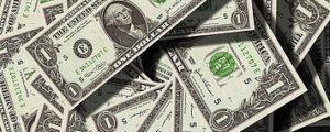 Dollar bills for retirement